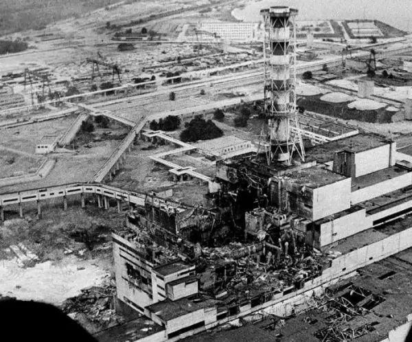 حادث تشيرنوبيل من الحوادث النووية الخطيرة