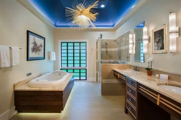 ديكورات جبس 2018 للحمامات عصرية
