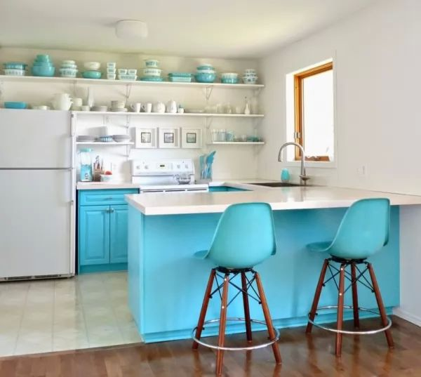 تركيب ارفف فى المطبخ من الطرق العملية لترتيب المنزل