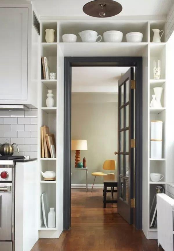 استغلال المساحة الطولية من الطرق المبتكرة فى ترتيب المنزل