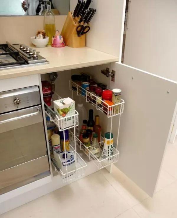 Smart Kitchen Cabinet Ideas: افكار مثالية لاستغلال المساحات الصغيرة فى منزلك