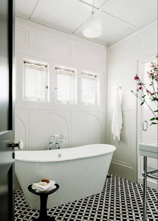 اختيار انماط منقوشة من بلاط الحمامات للارضيات