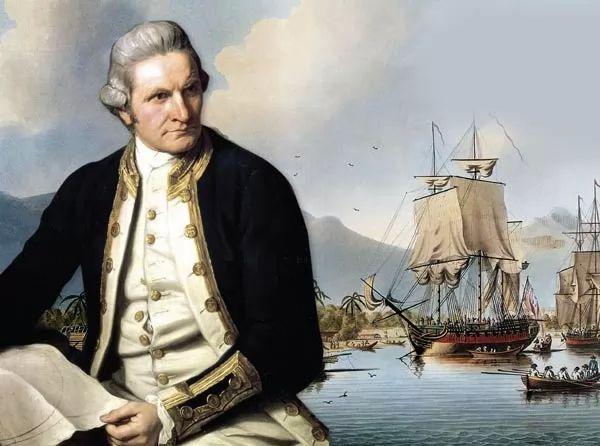 المستكشف البريطاني جيمس كوك