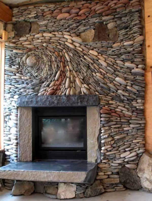 ديكورات الحجر للحائط بشكل ثلاثي الابعاد