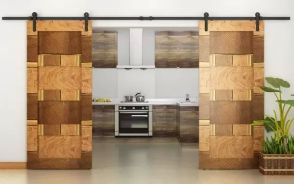 تصميمات الابواب الخشب الجرارة