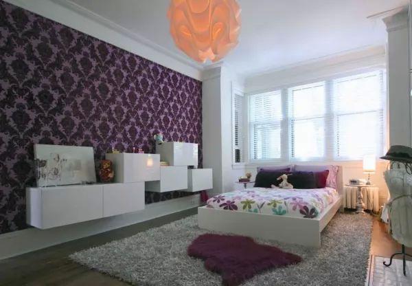 جدران لغرف النوم