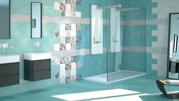 أفكار وأشكال موديلات سيراميك حمامات مودرن بالصور سحر الكون