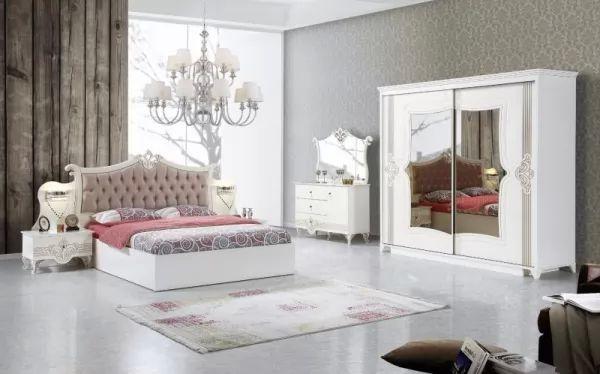 أحدث موديلات غرف نوم تركية مودرن ذات تصميم وألوان مميزة بالصور سحر