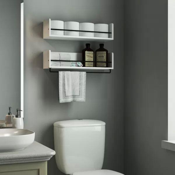 أسرار اختيار رفوف الحمامات المودرن الأنسب لحمامك