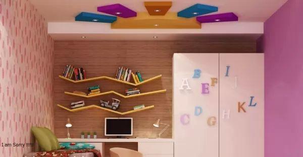 لمحة عن احدث تصاميم جبس غرف نوم الاطفال