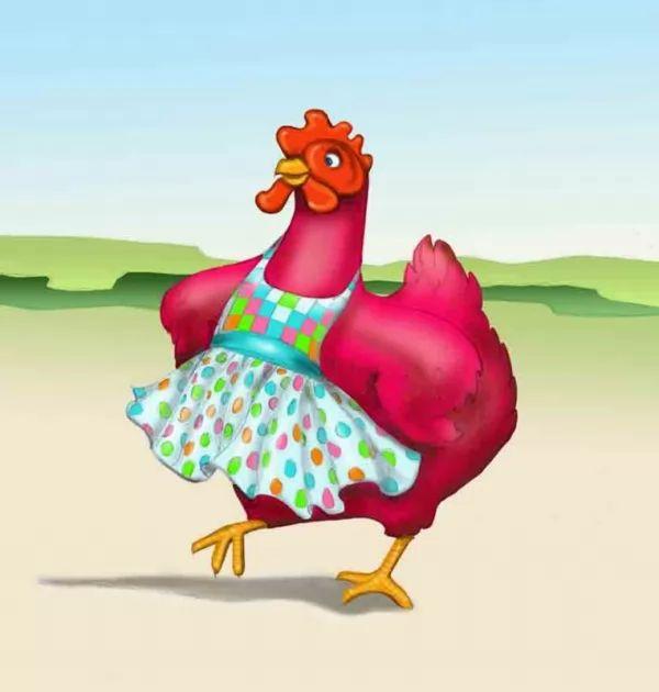 قصة الدجاجة الحمراء وحبة القمح