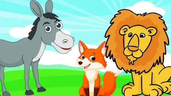 قصة الذئب والحصان