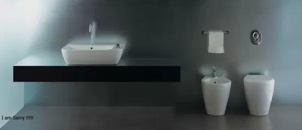 أشكال أحواض الحمامات المودرن