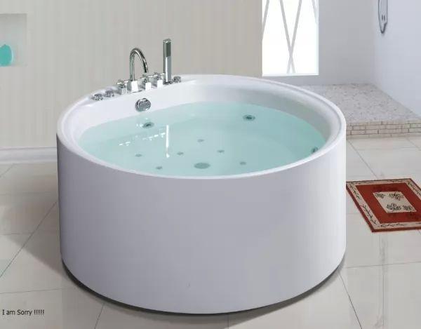 أشكال البانيو المتناغمة مع الحمامات المودرن