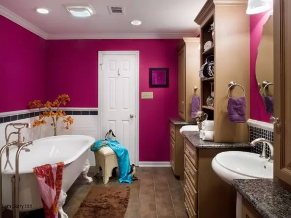 أجمل ألوان الحمامات المودرن بالصور colors-modern-bathro