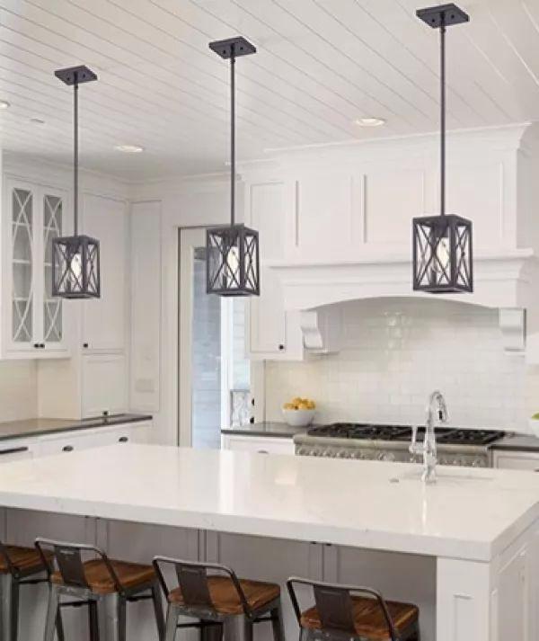 Electrical Home Design Ideas: أشكال متنوعة من إضاءة المطبخ المودرن بالصور