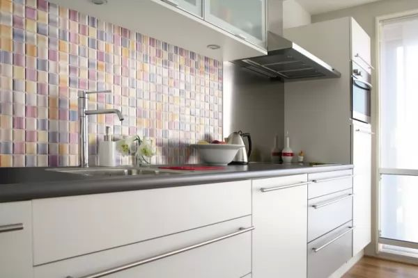 أفضل ألوان بلاط المطبخ الحديث colors-kitchen-tiles