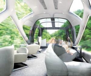 قطار اليابان الفاخر أحد أفخم السكك الحديدية في العالم