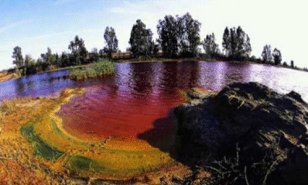 ريو تينتو (النهر الأحمر)، إسبانيا