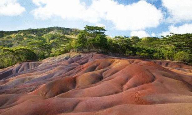 شلالات شاماريل والأرض الملونة، جمهورية موريشيوس